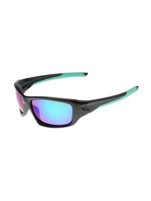 Солнцезащитные очки Gusachi. Цвет: черный, синий, зеленый