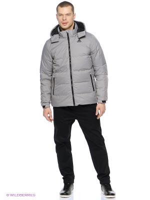 Куртка Dd70 Welded Jkt Adidas. Цвет: серый