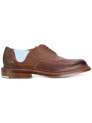 Ботинки Дерби Four Grenson. Цвет: коричневый