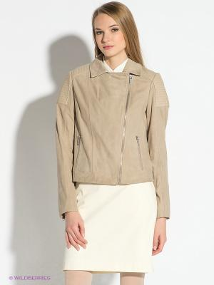 Куртка Tommy Hilfiger. Цвет: бежевый