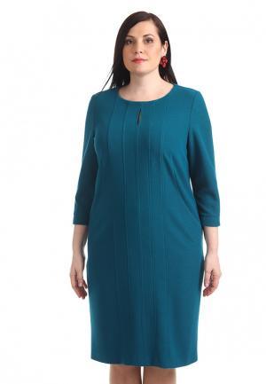 Платье Averi. Цвет: бирюзовый