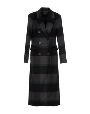 Пальто ANONYME DESIGNERS. Цвет: серый
