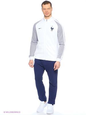 Толстовка FFF AUTH N98 TRK JKT Nike. Цвет: белый
