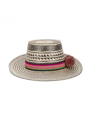 Шляпа Kalinda Yosuzi. Цвет: чёрный