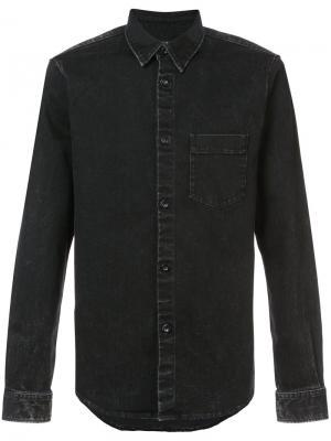 Джинсовая рубашка Victor A.P.C.. Цвет: чёрный