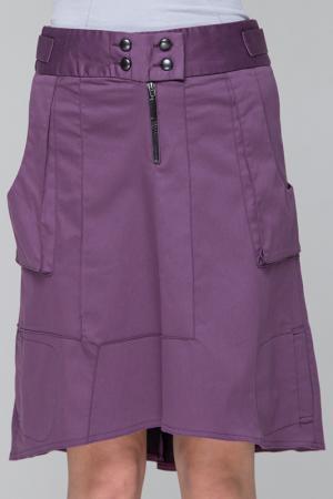 Юбка Gloss. Цвет: фиолетовый
