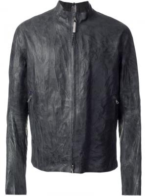Куртка на молнии Isaac Sellam Experience. Цвет: серый