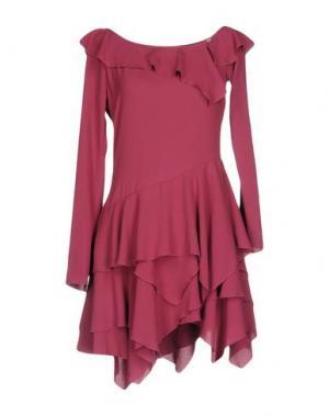 Короткое платье DENNY ROSE. Цвет: розовато-лиловый