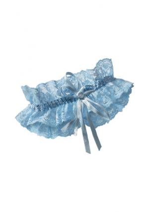 Подвязка для чулок. Цвет: синий
