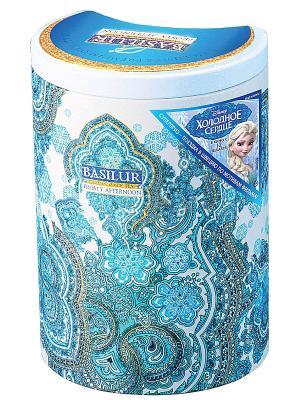 Чай Basilur ВОСТОЧНАЯ КОЛЛЕКЦИЯ Морозный день Frosty Afternoon. Цвет: светло-голубой