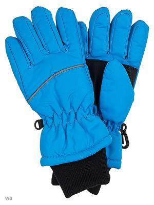 Перчатки NAME IT. Цвет: синий