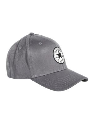 Бейсболка PATCH FLEX CAP Converse. Цвет: белый