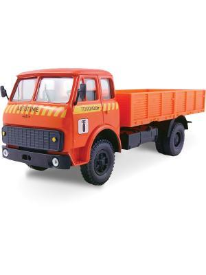 Машина MAZ-5335 техпомощь AUTOTIME. Цвет: оранжевый