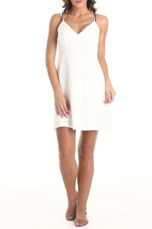 Платье Galvanni. Цвет: white