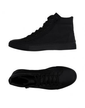 Высокие кеды и кроссовки BAGATT. Цвет: черный