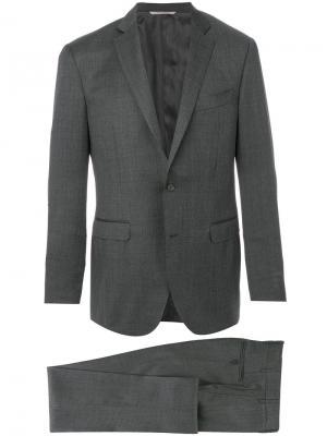 Классический костюм Drop 8 Canali. Цвет: серый