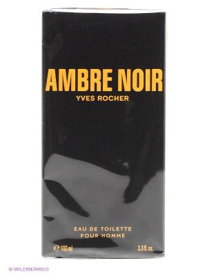 Туалетная Вода Ambre Noir, 100 мл Yves Rocher. Цвет: черный