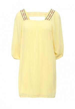 Платье Free Minds. Цвет: желтый