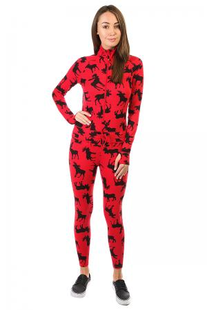 Термобелье (комбинезон) женское  Hoodless Ninja Suit Moose Airblaster. Цвет: коричневый,черный