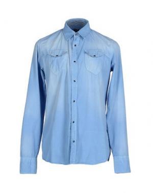 Pубашка DNM-BRAND. Цвет: синий