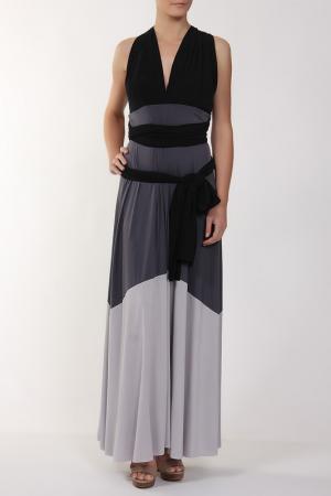 Платье джерси Von Vonni. Цвет: серый