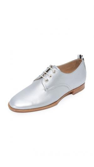 Ботинки на шнурках Audrey Rag & Bone. Цвет: голубой
