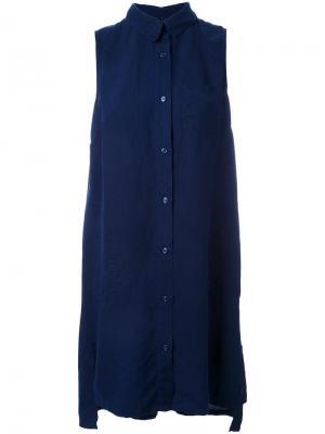 Платье Flow Nobody Denim. Цвет: синий