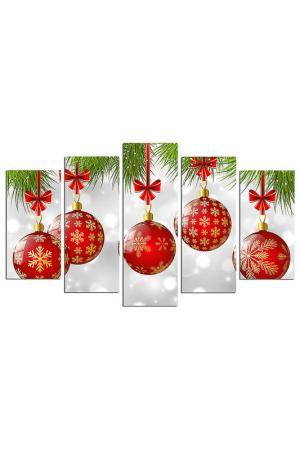 Декоративное панно CHRISTMAS - DECORATION. Цвет: мультицвет