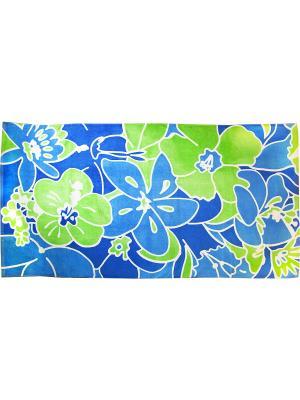 Полотенце BONITA. Цвет: белый, голубой, зеленый