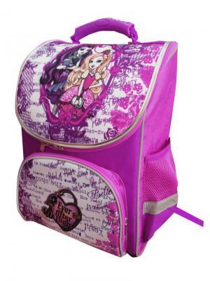Ранец Premium box Mattel EAH фиолетово-белый. Цвет: фиолетовый