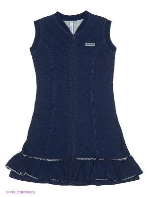 Платье PlayToday. Цвет: темно-синий