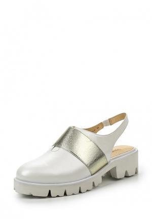 Туфли Sparkling. Цвет: белый