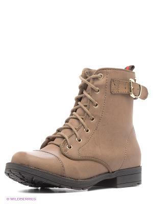 Ботинки XTI. Цвет: светло-коричневый, темно-серый