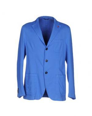 Пиджак SARTORIA LATORRE. Цвет: лазурный