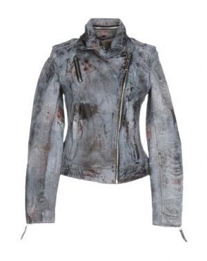 Куртка FREAKY NATION. Цвет: серый