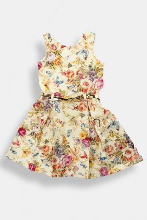 Платье Lilax. Цвет: желтый