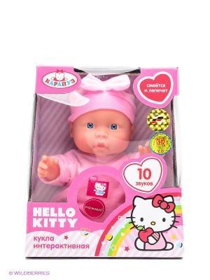 Пупс Карапуз Hello Kitty. Цвет: розовый