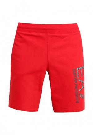 Шорты EA7. Цвет: красный