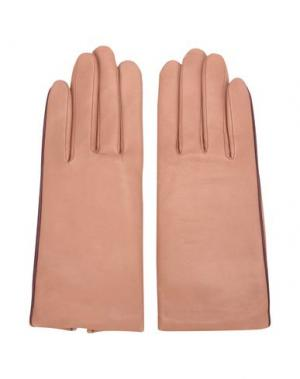 Перчатки AGNELLE. Цвет: телесный