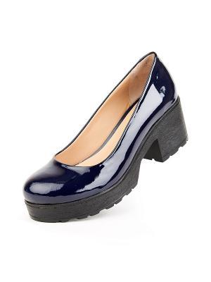 Туфли Lottini. Цвет: синий