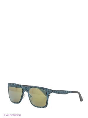 Солнцезащитные очки OXYDO. Цвет: темно-зеленый, черный