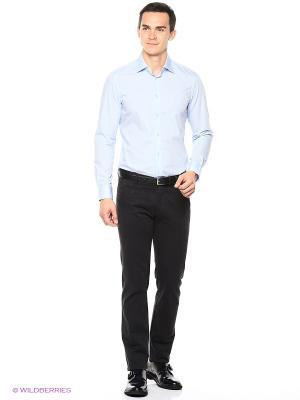 Рубашка Reserved. Цвет: серо-голубой, синий