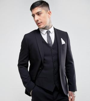 Heart & Dagger Приталенный пиджак. Цвет: черный