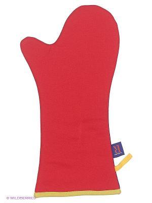 Перчатка-прихватка Dexam. Цвет: красный