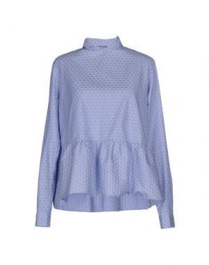 Блузка CALIBAN. Цвет: небесно-голубой