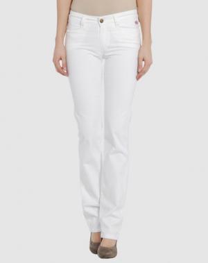 Повседневные брюки GB8. Цвет: белый