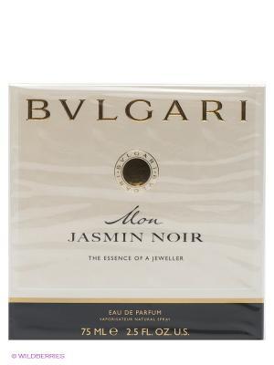 Туалетная вода Bvlgari Mon Jasmin Noir, 75 мл спрей. Цвет: кремовый