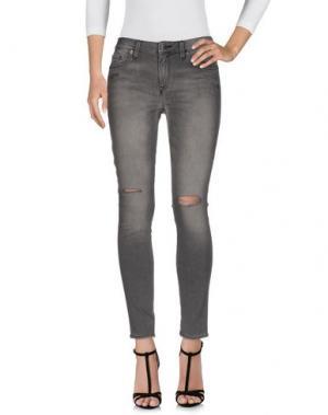Джинсовые брюки GENETIC DENIM. Цвет: серый