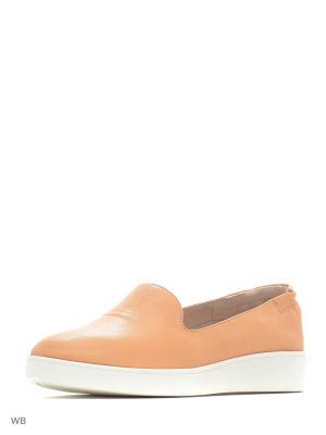 Мокасины Covani. Цвет: оранжевый