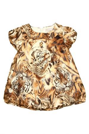 Платье STEFANIA. Цвет: коричневый
